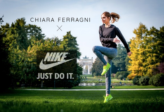 "NIKE WITH ""THE BLONDE SALAD"" BY CHIARA FERRAGNI"
